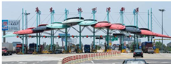 铝单板技术再创新 收费站旧貌换新颜 ——上海吉祥科技集团深耕高速收费站改扩建项目